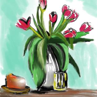 Tulips sketch