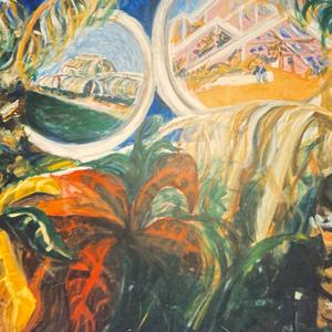 Kew Gardens mural