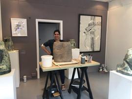 Artist in residence Notting Hill - June 2019