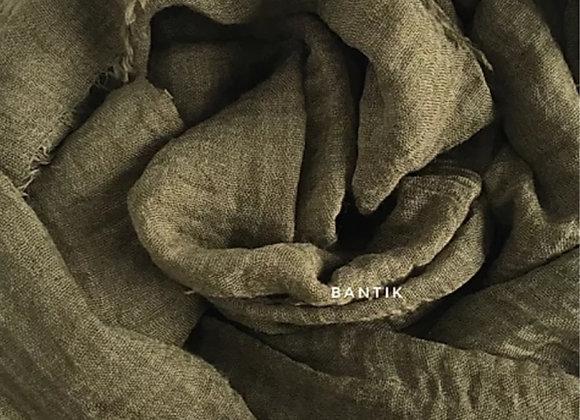 KHAKI maxi shawl