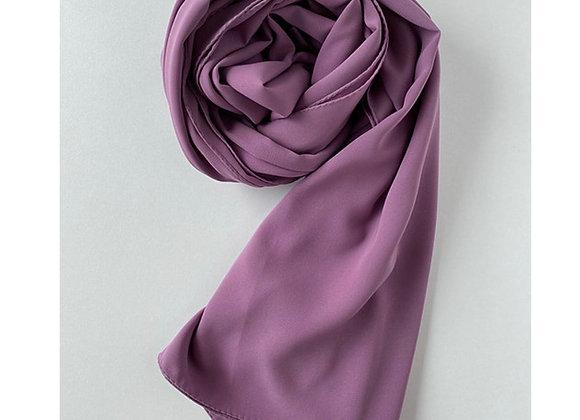 PURPLE Medina silk hijab