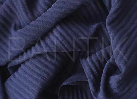 MARINE pleated chiffon shawl