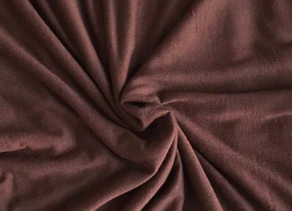 CHOCOLATE jersey shawl