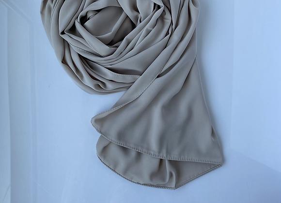Achatgrau Medina silk hijab