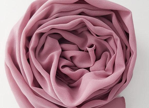 MUTED PINK chiffon shawl