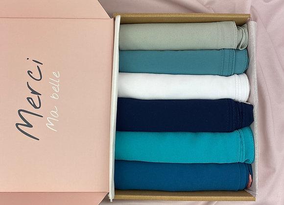 BANTIK BOX chiffon shawls