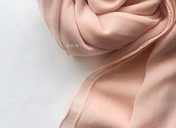 ROSE PASTEL chiffon shawl