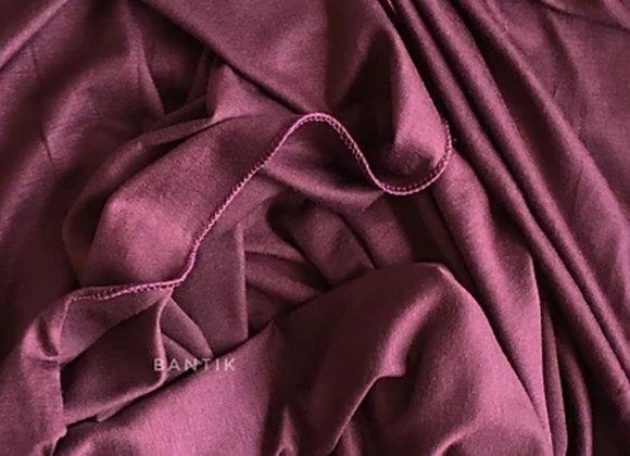 LAVANDE VIOLET jersey shawl