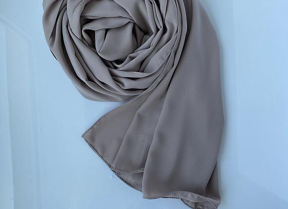 Graubeige Medina silk hijab