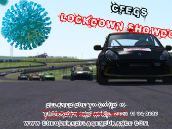 CFEG's Lockdown Showdown - 11/04/2020