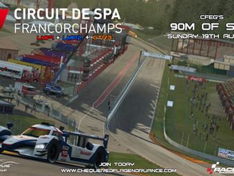 Raceroom - 90m Space this weekend !
