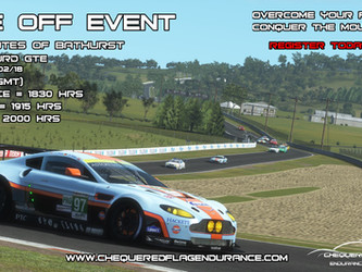 One Off Event - 90m Bathurst (Rfactor2)