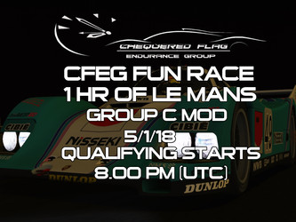 One off Event - 1 Hour of Le Man (Group C)