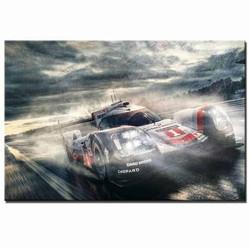 Porsche 919 Lemans Wall Art Canvas [FREE SHIPPING]