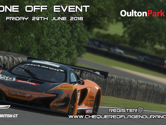 One Off Event - GT3 @ Oulton Park (Rfactor2)