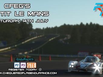 Petit Le Mans event Full!