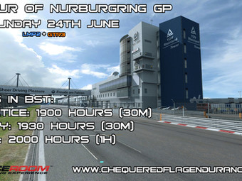 One Off Event - 1 Hour of Nurburgring GP [Raceroom]
