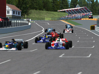 One Off Event - F1 1996 @ Spa Francochamp