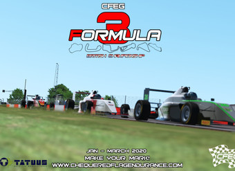 Rfactor2 - Formula 3: British Championship! [Jan - March 2020]