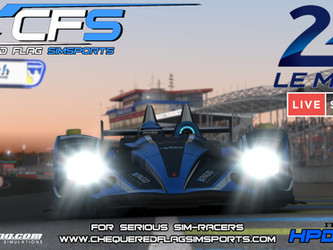 iRacing - 24h Le Mans & Team CFS