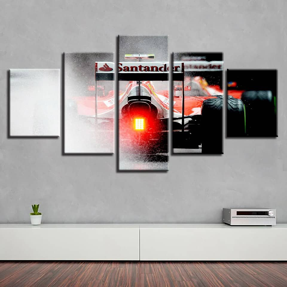 Ferrari F1 Modular Wall Art Canvas [FREE SHIPPING]