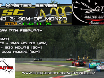 GT Masters - Round 3 Approaches (Monza)