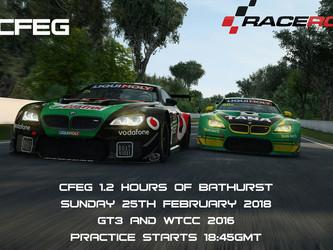 One Off Event - 1.2h Bathurst (Raceroom)