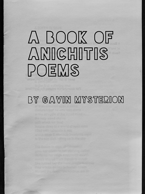 A Book of Anichitis Poems