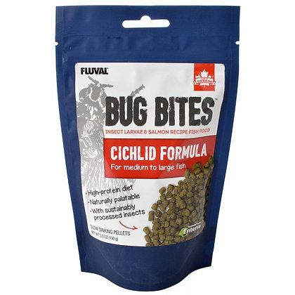 Fluval Bug Bites Cichlid Formula for Medium-Large Fish