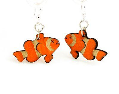Clown Fish Earrings # 1469
