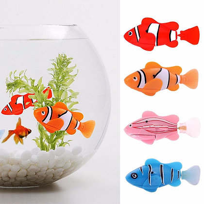 5 Pieces Funny Swimming Electronic Pets Fish