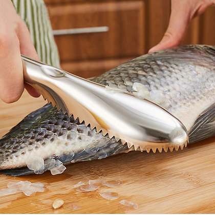 Cooking Tools Fish Cleaning Knife Skinner Fish Skin Scraper Stainless Steel