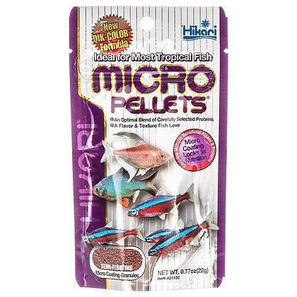 Hikari Micro Pellets for Tetras, Barbs & Small Fish