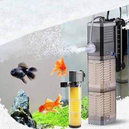 3 in 1 Aquarium Filter Fish Tank Filter for Aquarium Air Pump