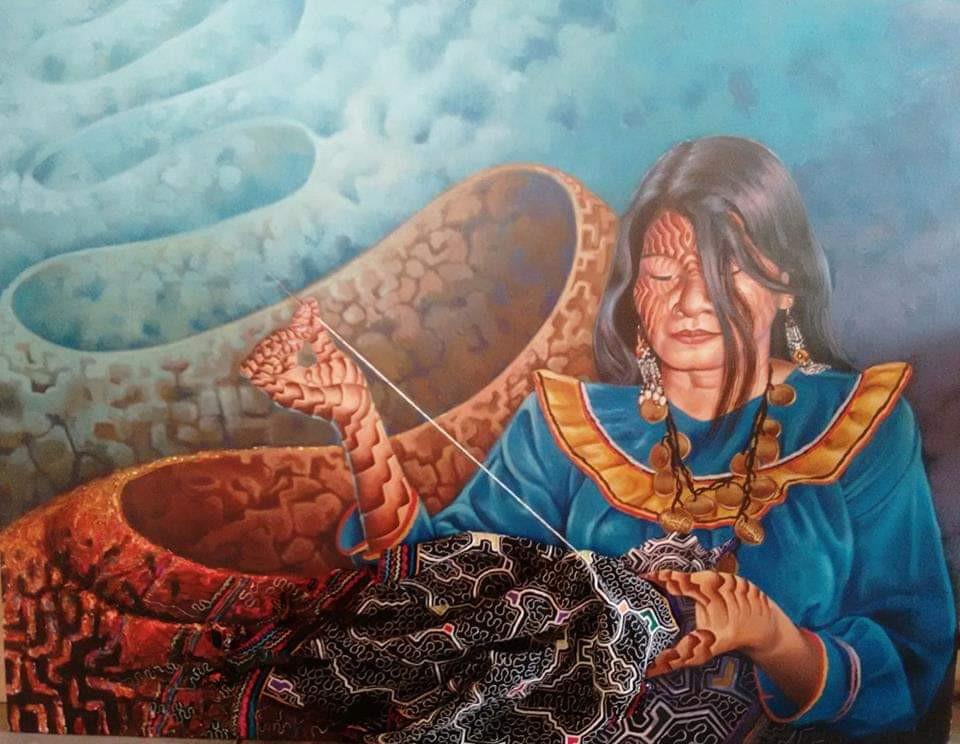 Jungle Trip Ameyali - Ayahuaska Art
