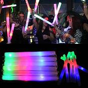 30-150X-Light-Up-Foam-Sticks-LED-Wands-R