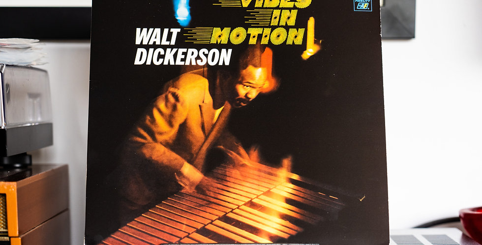 Walt Dickerson – Vibes In Motion (LP)