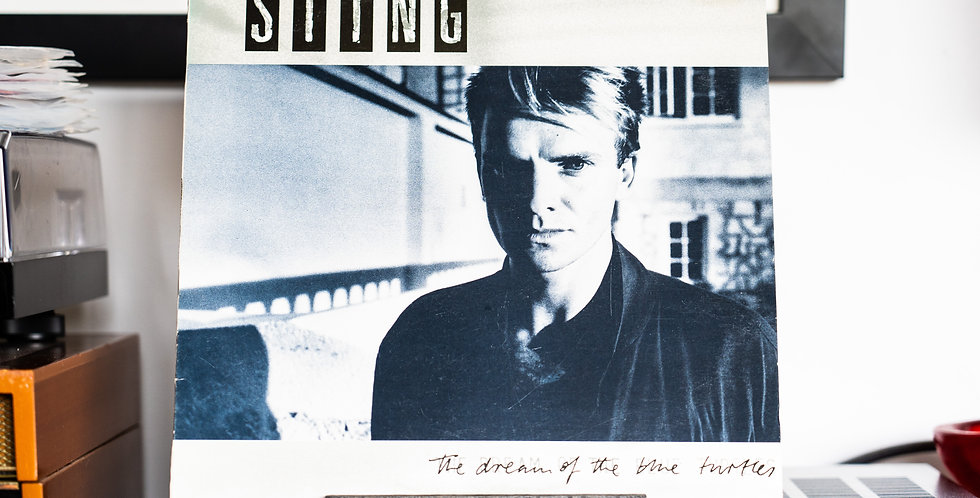 Sting ‎– The Dream Of The Blue Turtles (LP)