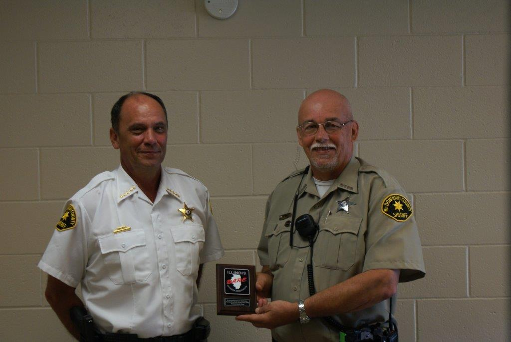 Congrats to Deputy Jim Percy