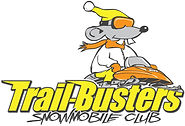 Trail-Busters snowmobile club logo