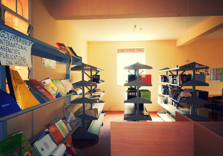 Matibabu library facilities.