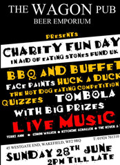 charity fun day in Wakefield. thanks Taz!