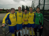 five-a-side football tournament.