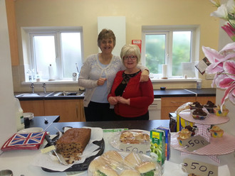 fantastic coffee morning and cake sale. thanks Pam and team!