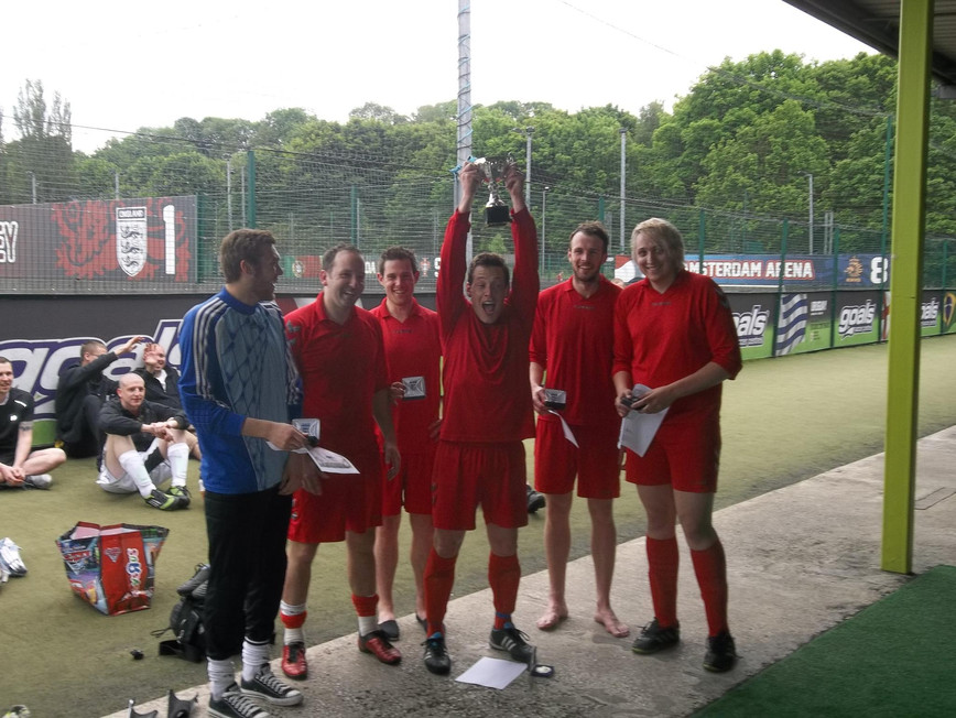 the five-a-side football tournament became an annual event.