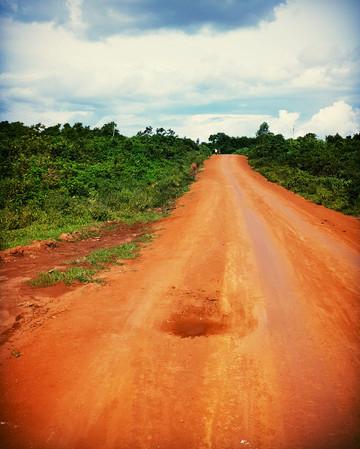 access to medication. long unwinding road.