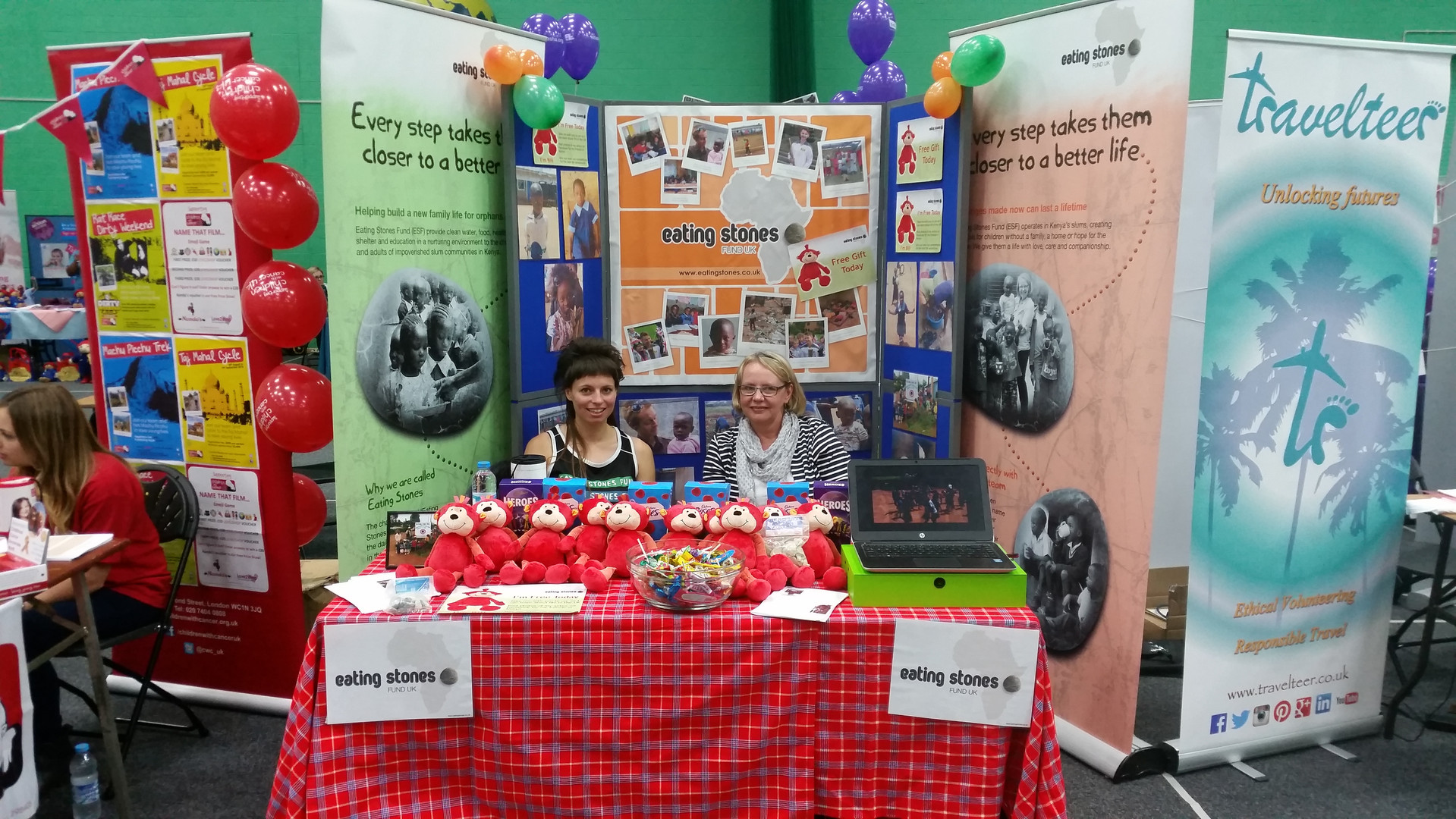 event for RAG promoting the work of Eating Stones Fund.