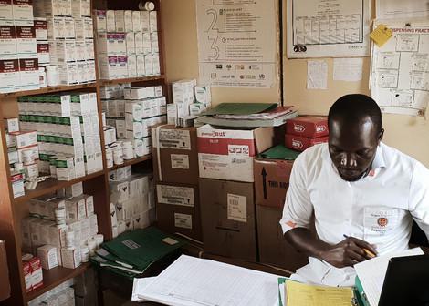 access to medication. healing communities.