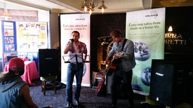 live music as part of family fun day.