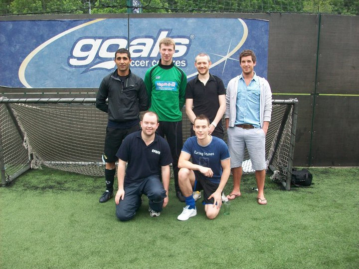 five-a-side football tournament. can you tell we were a fan of these?
